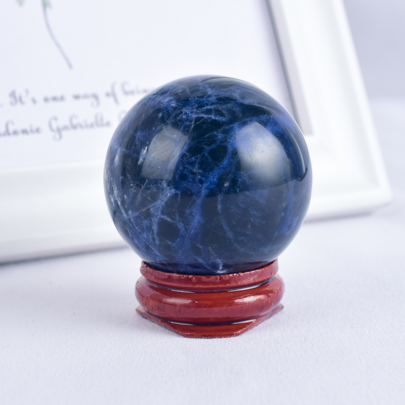 Natural Lapis Lazuli Stone Crystal Ball Sphere