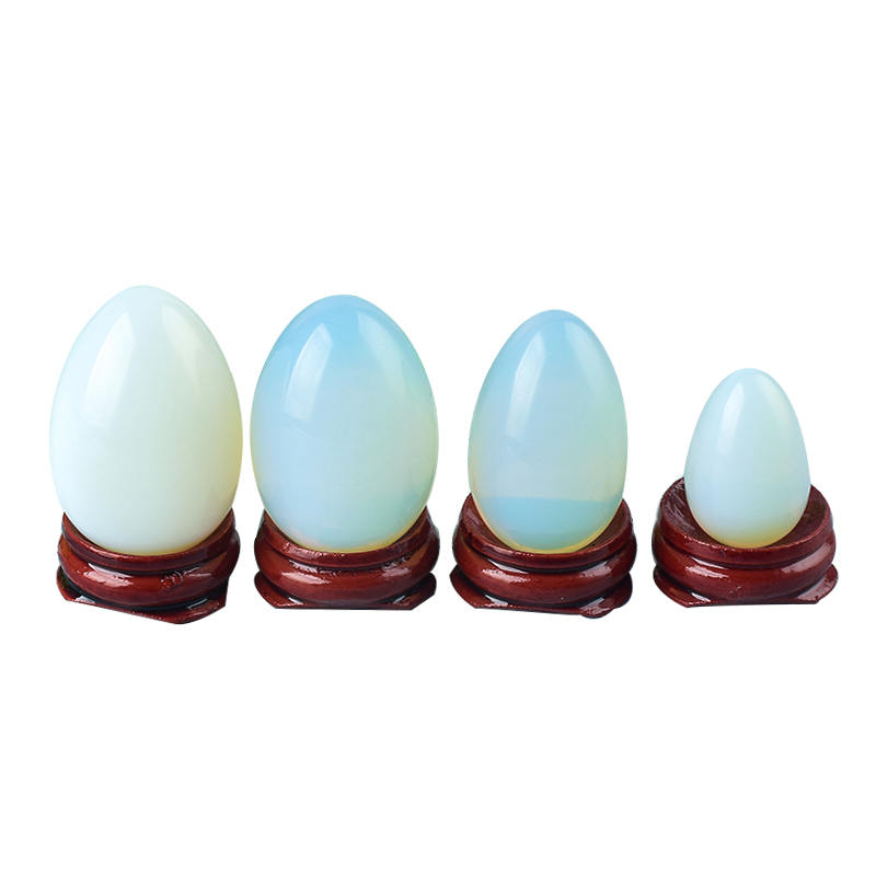 Undrilled Opilate Stone Yoni Eggs Massage Jade egg to Train Pelvic Muscles Kegel Exercise