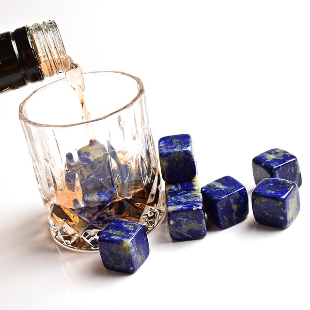 Natural Semi-precious Whiskey Stones Cube Chilling Whisky Ice Stone