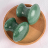 Mushroom-Shaped Green Aventurine Stone Crystal Guasha Scraping Stone for Spa Relaxing Meditation Massage