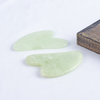 Gua Sha Facial Massage Tool Natural Xiuyan Jade Scraping board Body Scraper Crystal Scratching